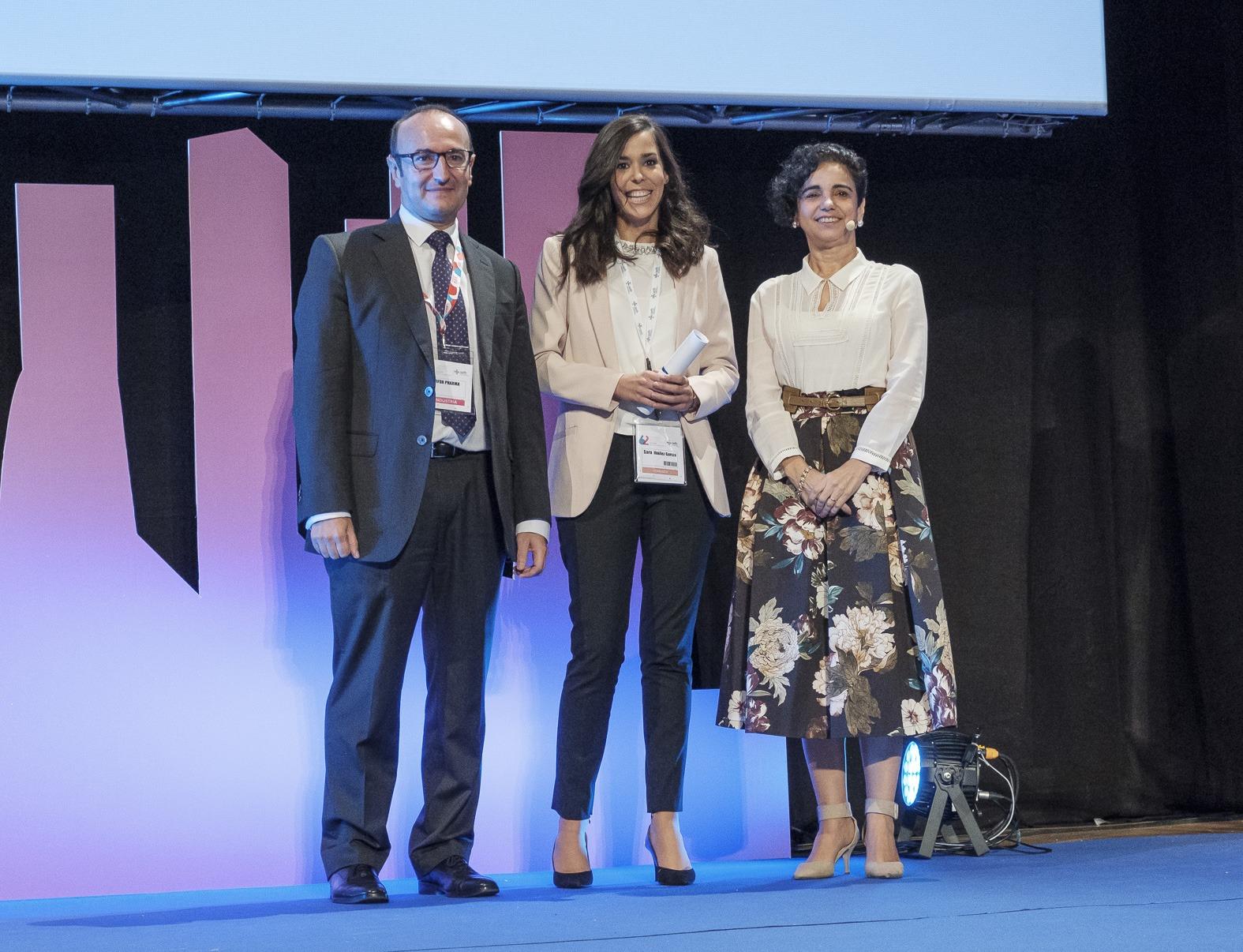 Fotografía de la entrega de premios