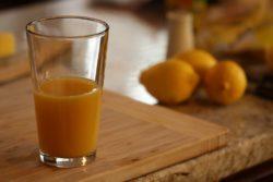 Base de zumo de naranja